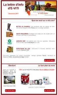 Newsletter déc. 2011