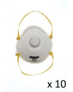 Masque jetable avec soupape d'expiration SPC/22 FFP2
