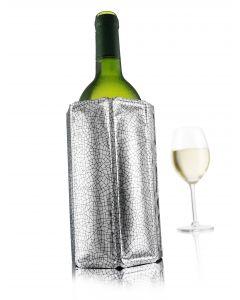 Refroidisseur à vin argenté