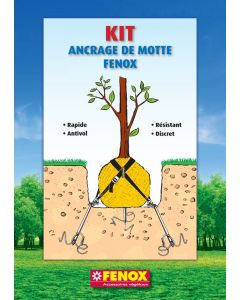 Kit ancrage d'arbres en motte