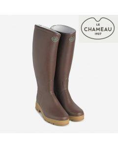 Botte Le Chameau Saint Hubert - Marron