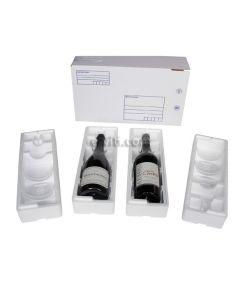 Coffret transport 2 bouteilles mixtes