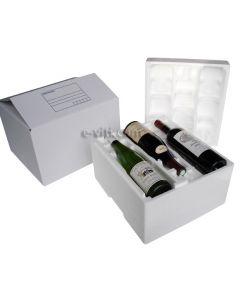 Coffret transport 6 bouteilles
