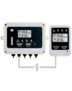 Détecteur fixe de CO2 & O2