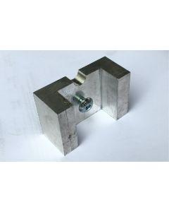 Embout aluminium pour crampillons releveurs