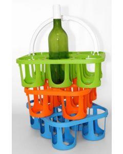 Panier plastique couleurs