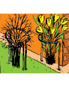 Tuteur plantes diffuses
