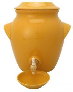 Vinaigrier couleur jaune safran