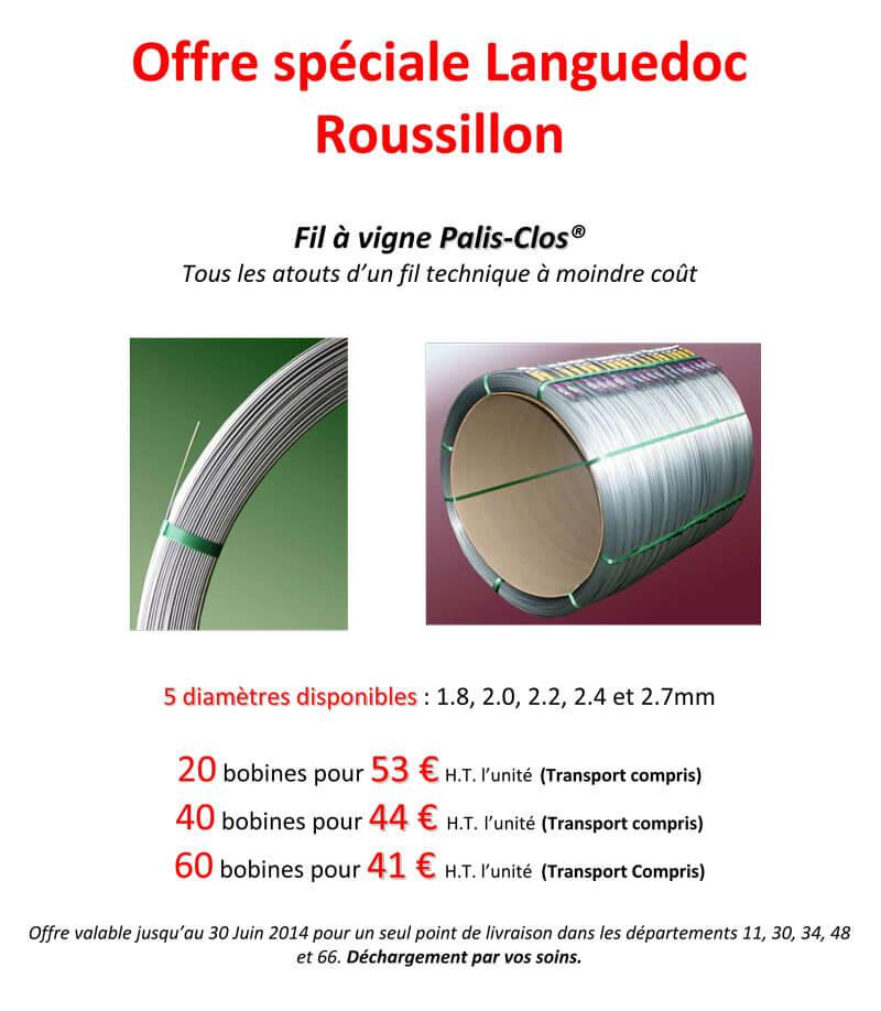Offre Languedoc Roussillon